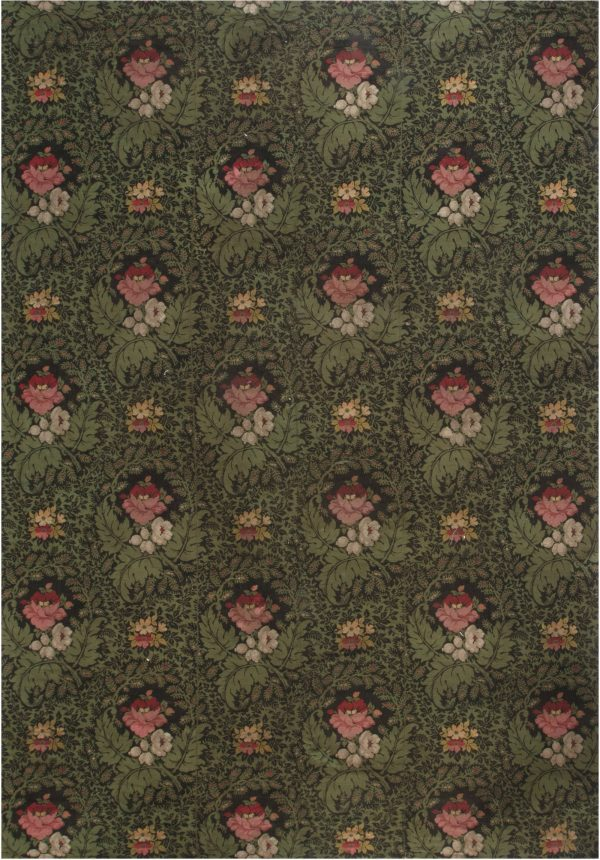 Francês antigo Needlework Rug BB6947