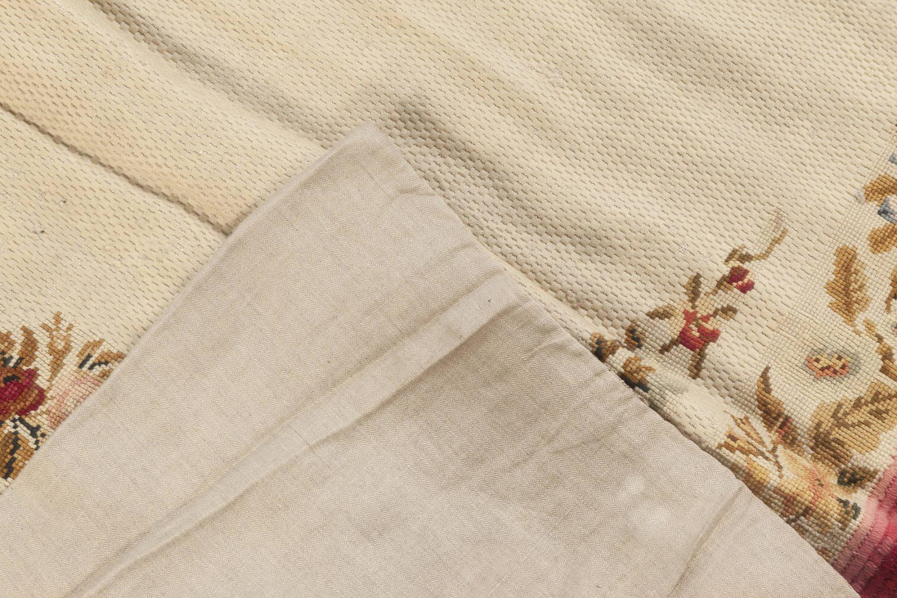 Early 20th Century English Needlework Rug BB6939