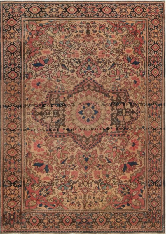 Antique Persian Tabriz Rug BB6928