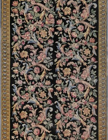 Antique Savonnerie Rug (size adjusted) BB6937