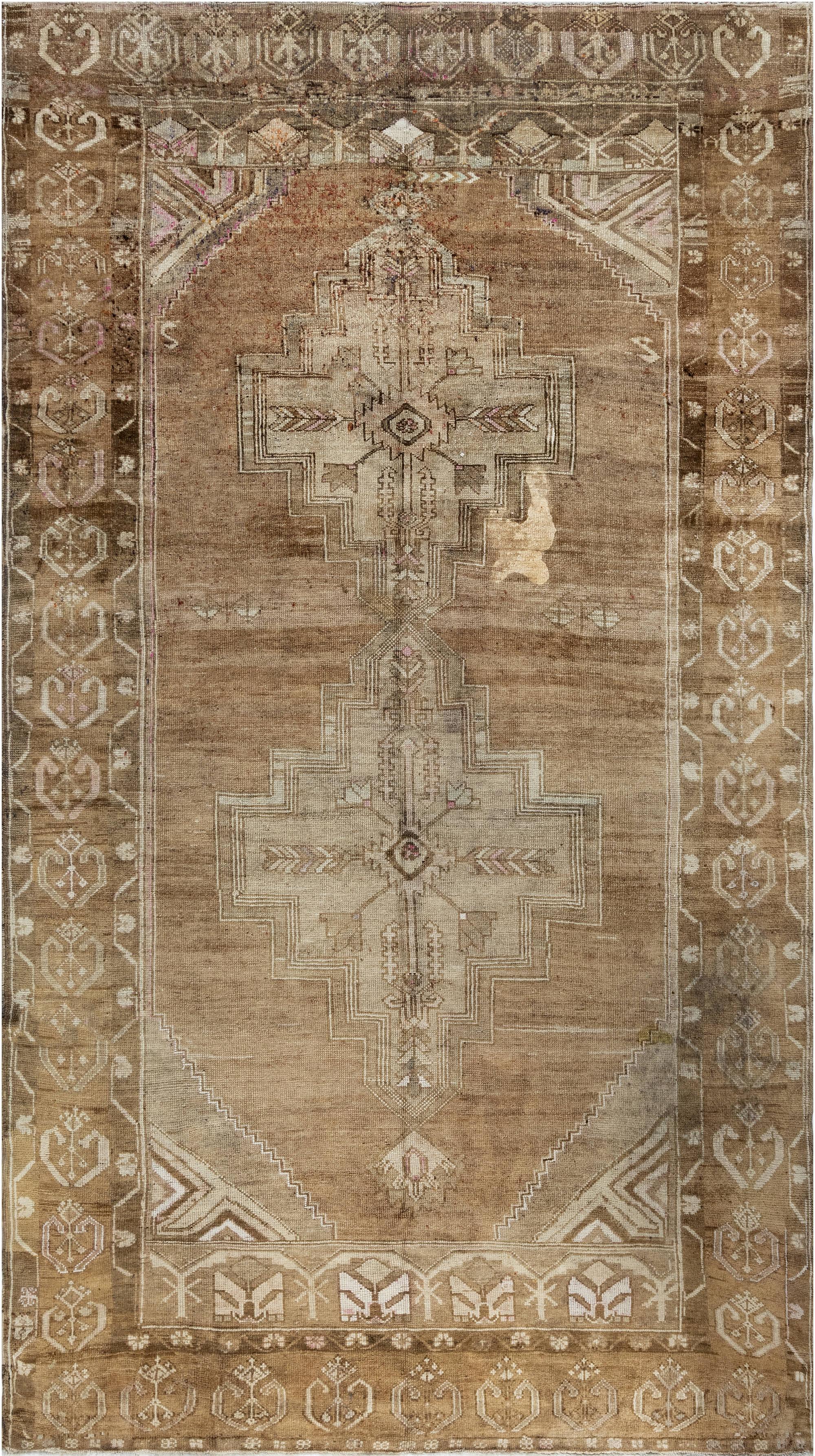 Antique Turkish Oushak BB6932