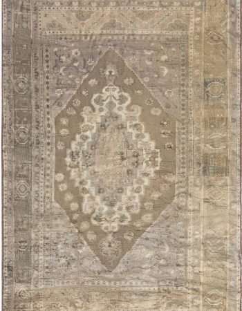 Antique Turkish Oushak rug BB6923
