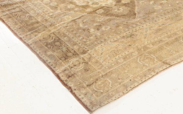 Antique Turkish Oushak rug BB6923