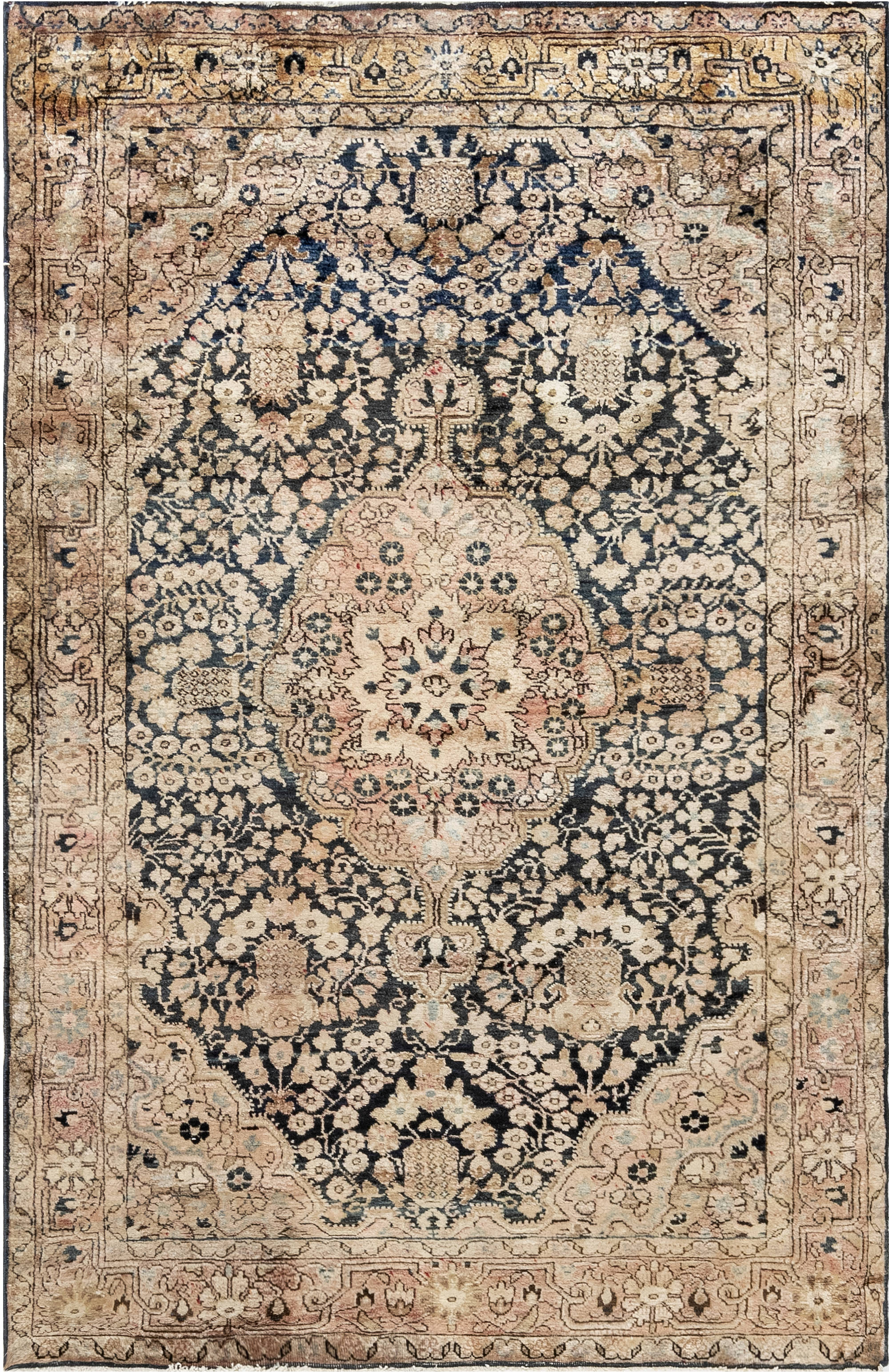 Antique Persian Kirman Rug BB6925