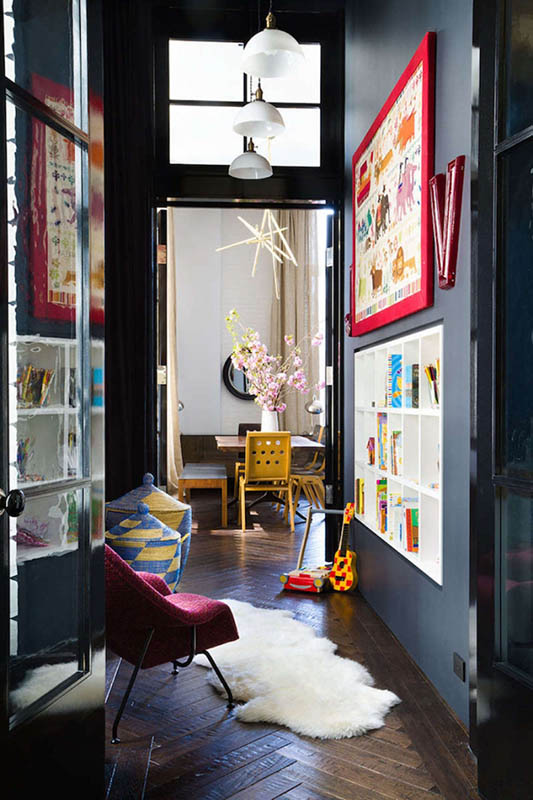 colorful eclectic interior decor (16)