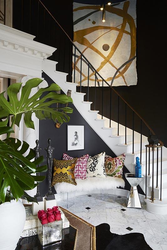 colorful eclectic interior decor (17)