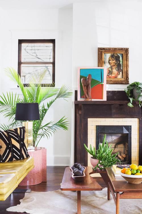 colorful eclectic interior decor (7)