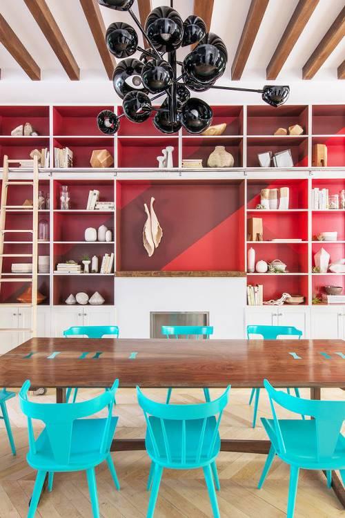 colorful eclectic interior decor (9)