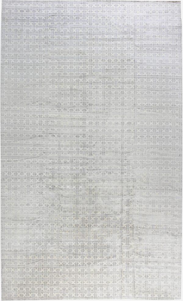 Geometric Terra Rug in Natural Wool N11963