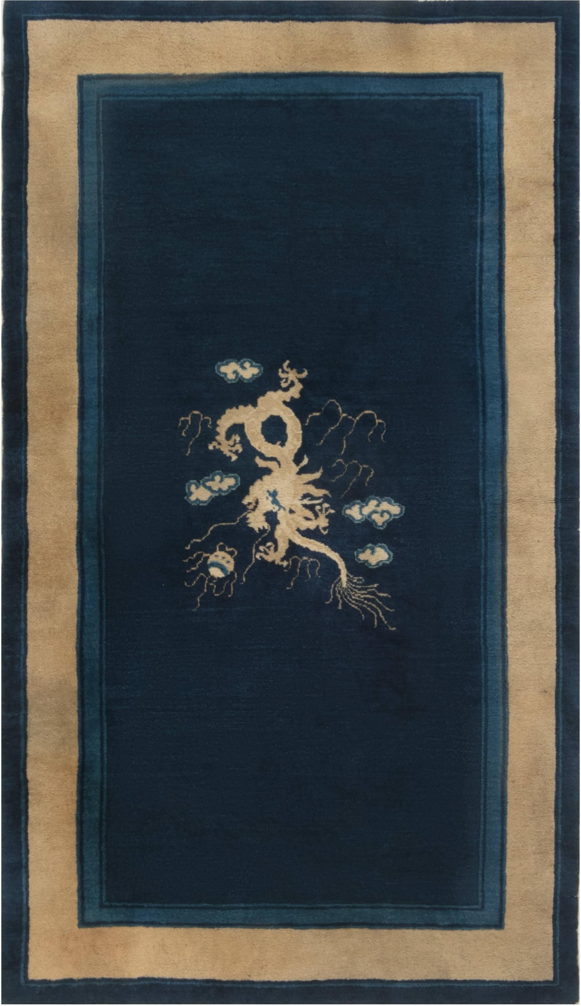 Vintage Chinese Rug BB6930