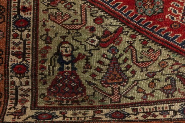 Antique Rug – Feraghan BB6955
