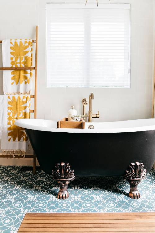 bathroom interior decor ideas (15)