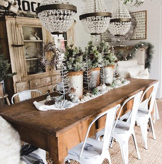 5 Most Elegant Christmas & Winter Farmhouse Decor Ideas