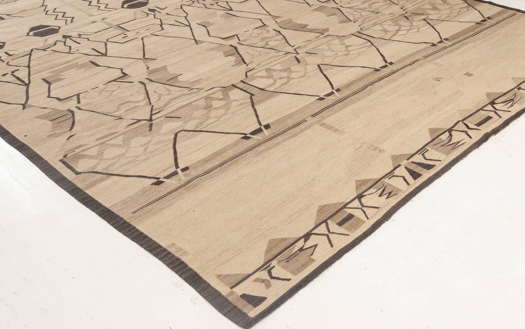 Modern Flat weave Rug N11965