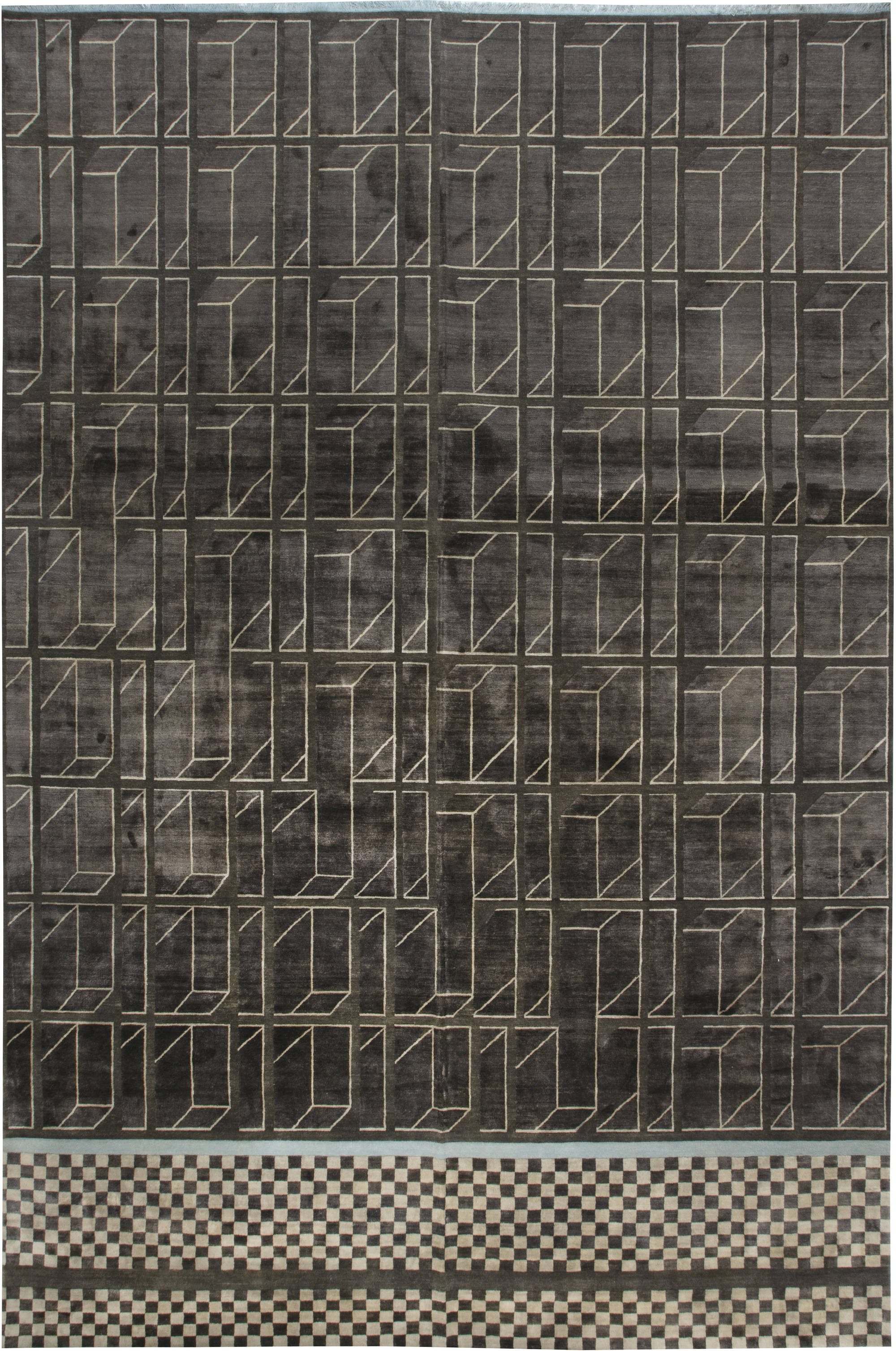 Contemporary Geometric Rug N11950