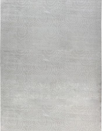 Contemporary Silk Rug N12098