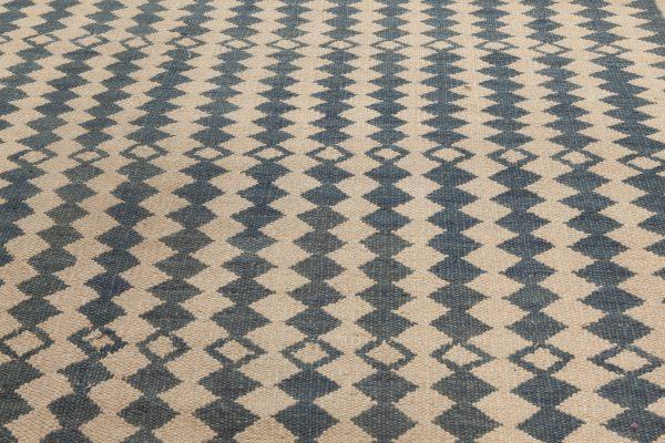 Modern Flat Weave Rug N11952