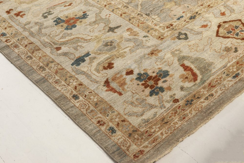 Traditional Sultanabad Design Rug N11956