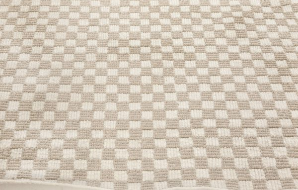 Swedish Indoor Outdoor Geometric Rug N11953