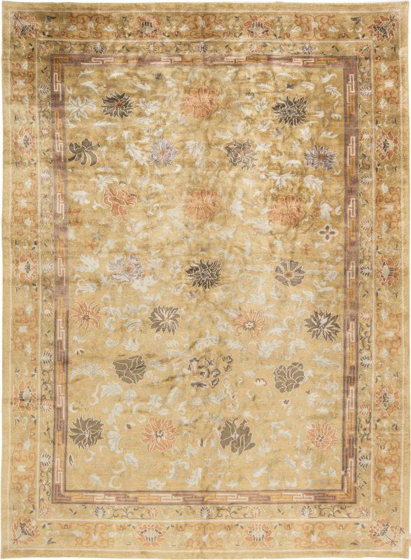 new-tibetan-silk-lotus-rug-12×9-n11427