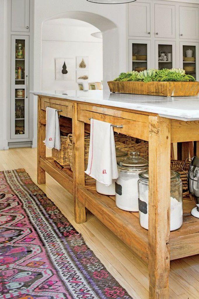 dois armários de cozinha em tons, cozinha 2019 tendências de decoração (10)