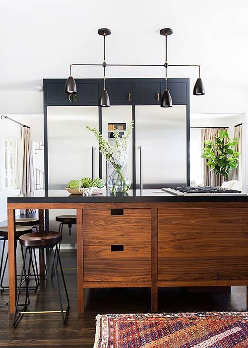 dois armários de cozinha em tons, cozinha 2019 tendências de decoração (3)