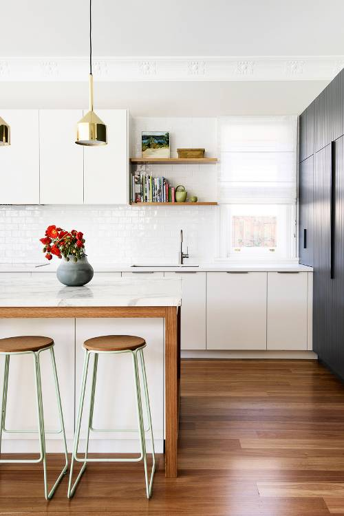 two toned kitchen cabinets, kitchen 2019 decor trends (8)