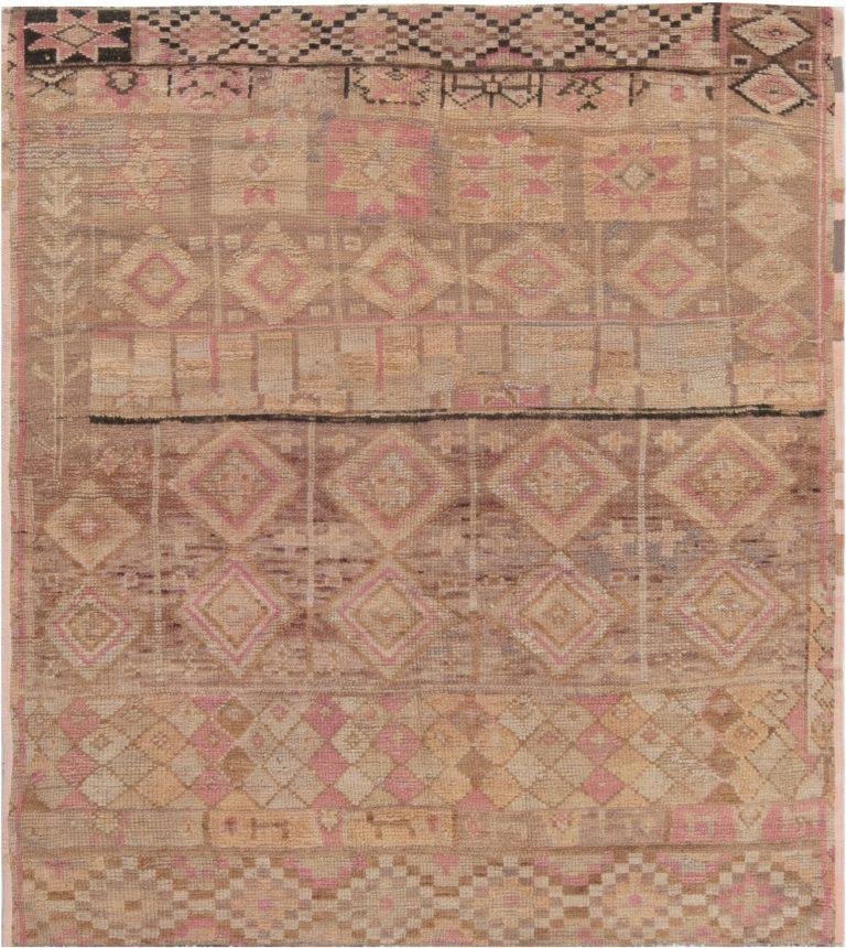 Vintage Moroccan Rug Fragment Bb6957 By Doris Leslie Blau