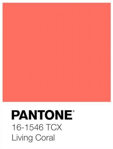 pantone living coral interior decor (18)