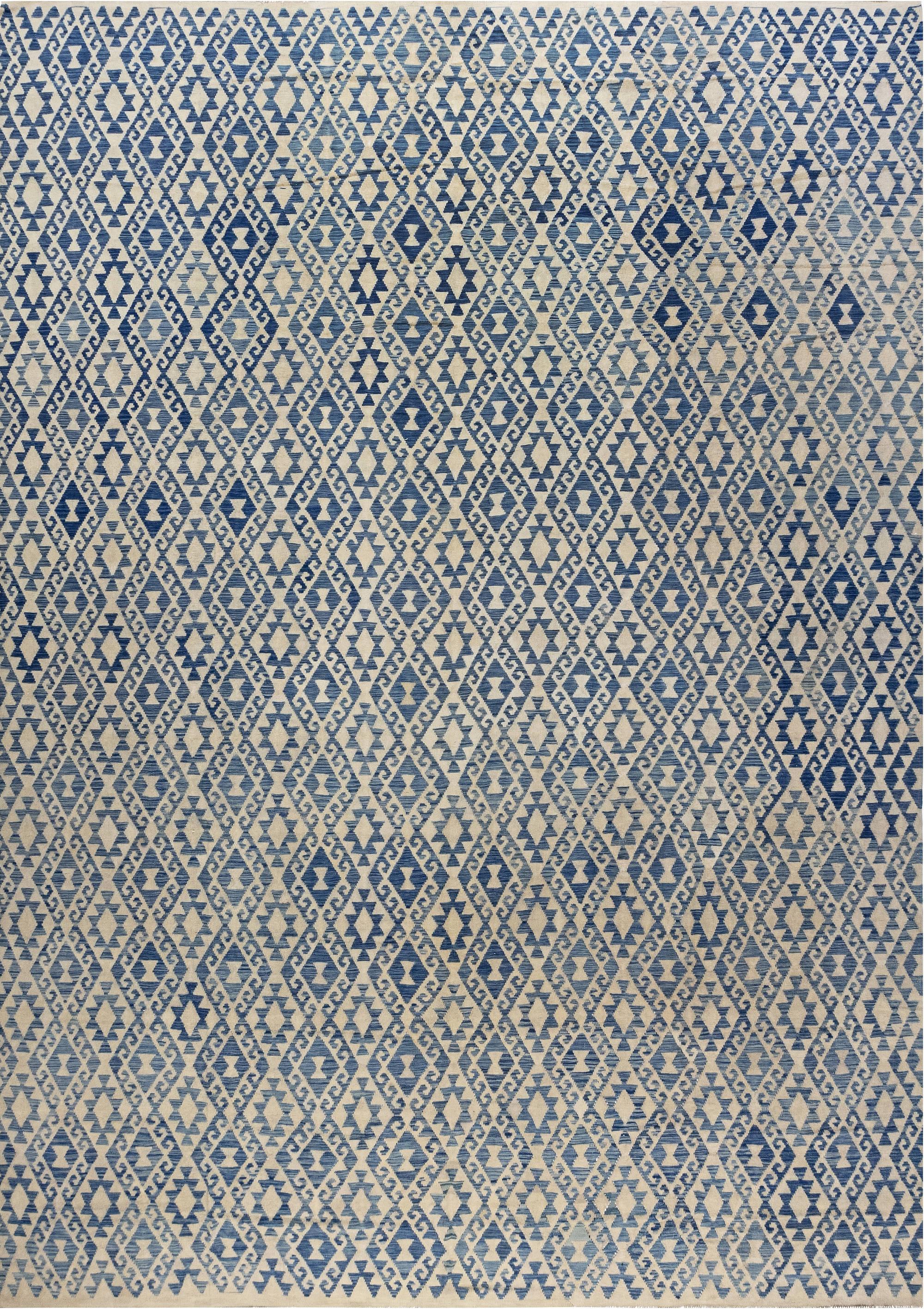 Modern Flat Weave Rug N12009