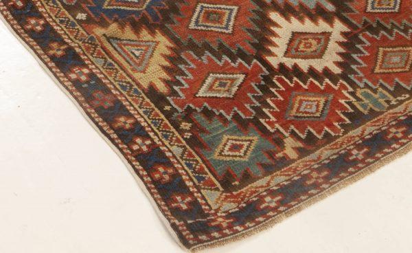 Antique Caucasian Rug BB6980