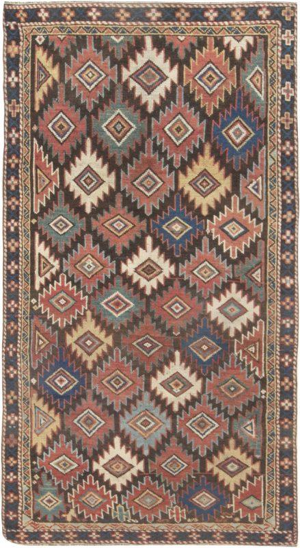 antique-caucasion-multi-color-rug-7×3-bb6980