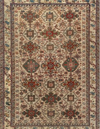 Antique Persian Heriz Rug BB6988