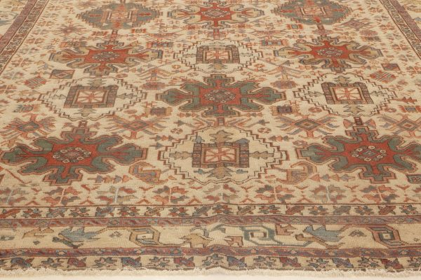 Antique Persian Heriz Rug BB6988