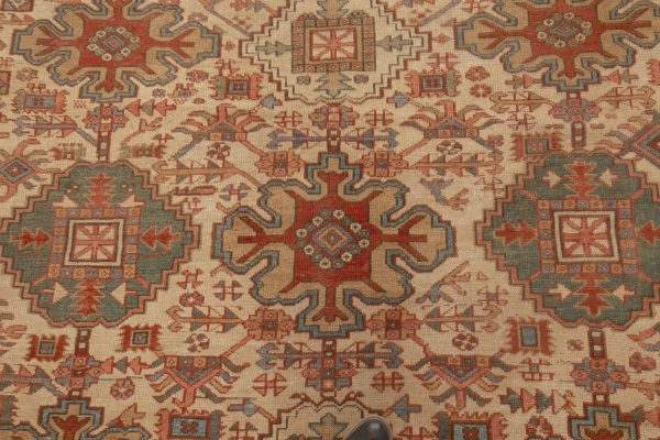 Antike Perser Heriz Teppich BB6988