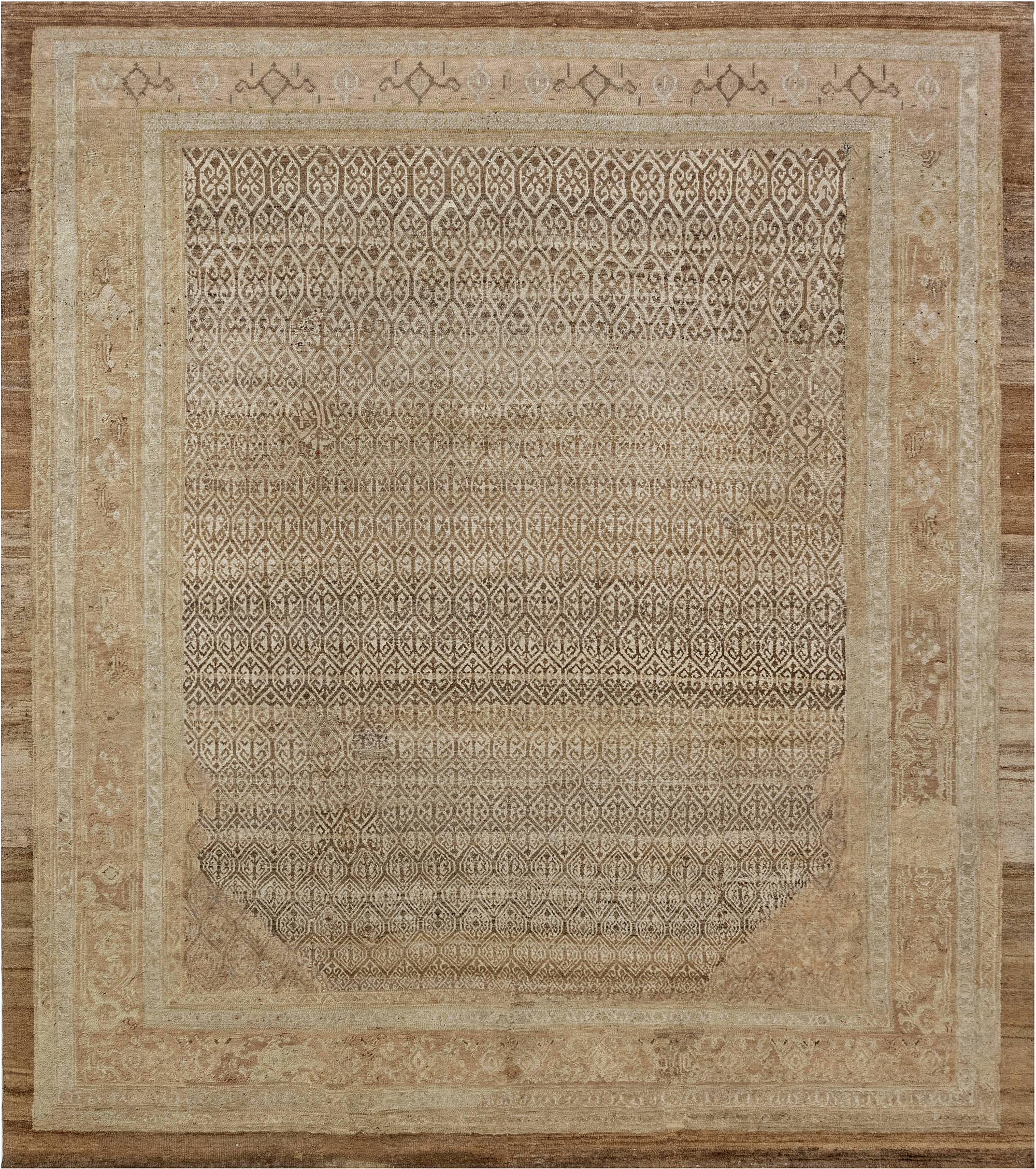Antique Persian Malayer (Size Adjusted) BB6982