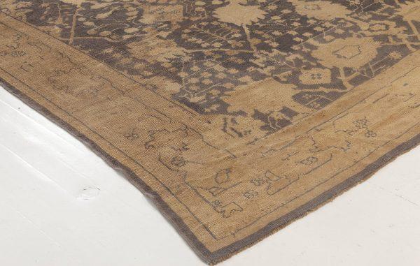 Antiker türkischer Oushak-Teppich BB6986