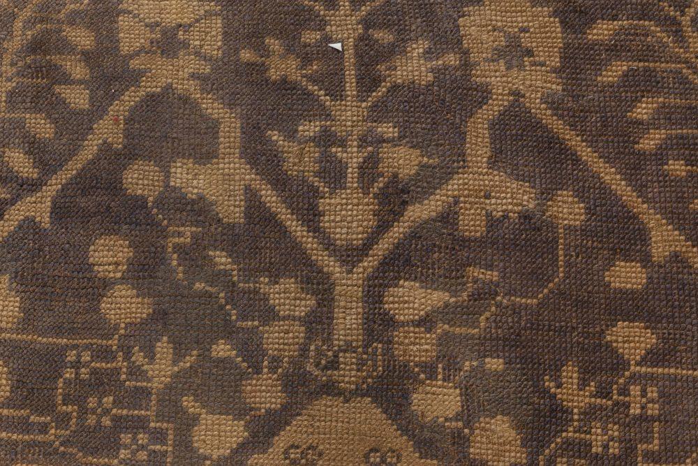 Antique Turkish  Oushak rug BB6986
