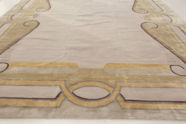 Beaux Arts Deco rug After Andre Arbus N12007