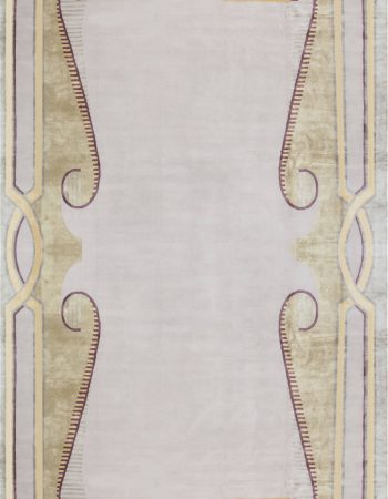 Beaux Arts Deco rug After Andre Arbus N12012