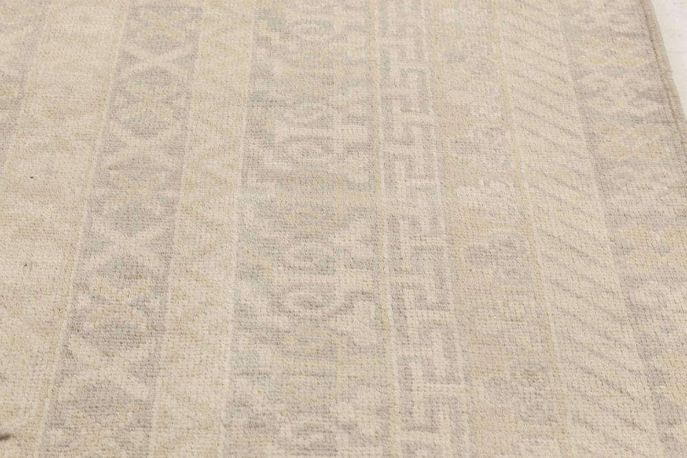 Gray and Beige Samarkand Rug N12011