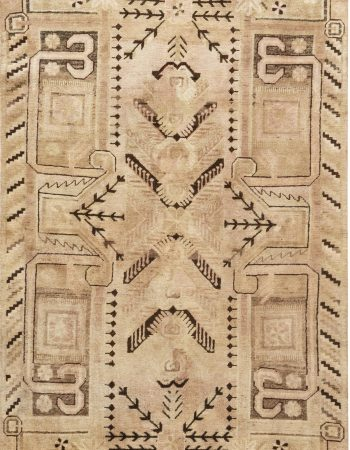 Antique Indian Cotton Agra Blue and White Rug BB6524