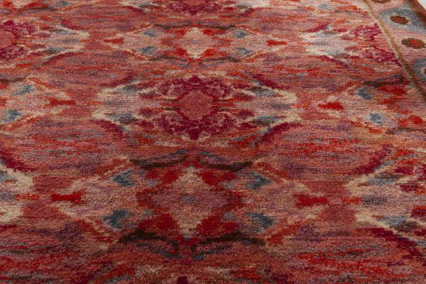 Vintage Swedish Pile Rug BB6967