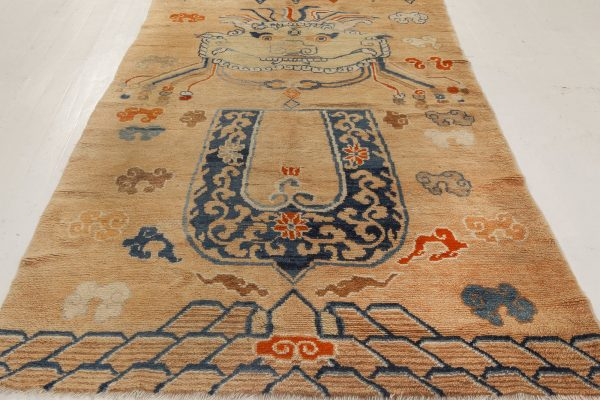 Antique chinês Rug BB7004