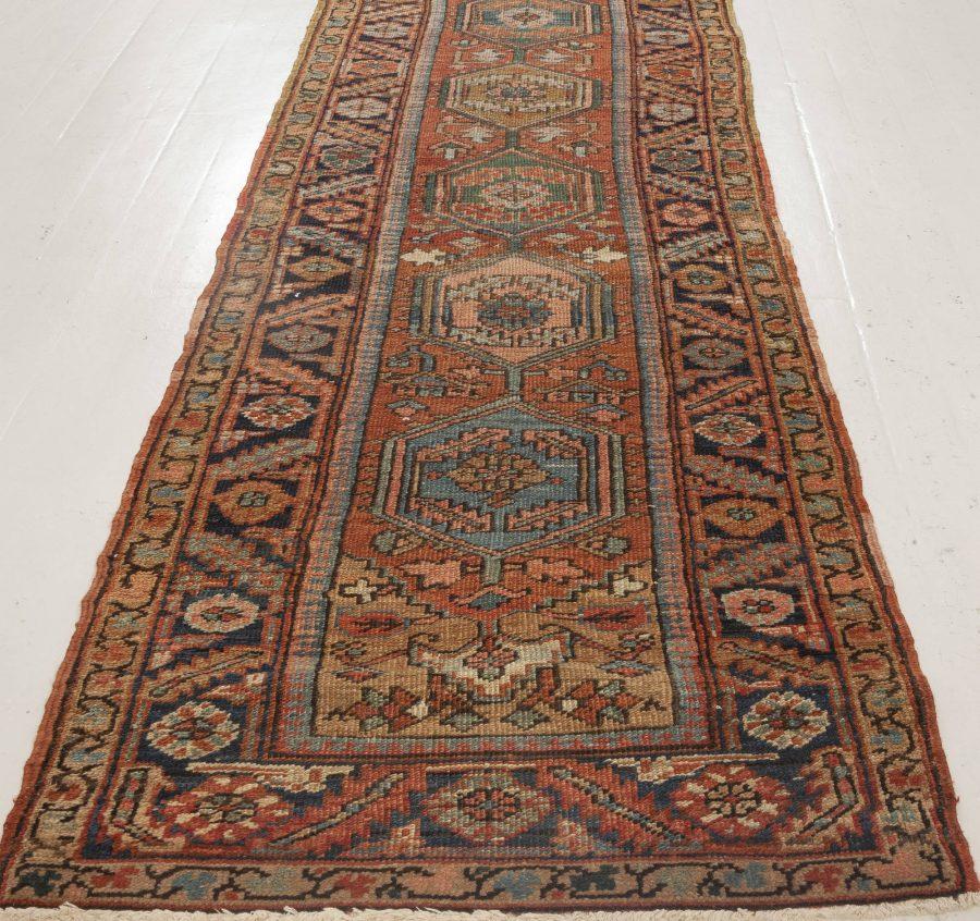 Antique Persian Heriz Runner BB7006