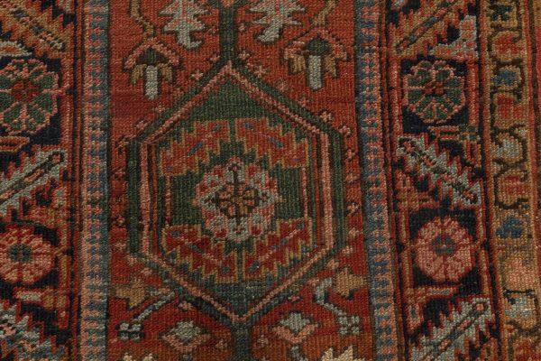 Antiker persischer Heriz Läufer BB7006