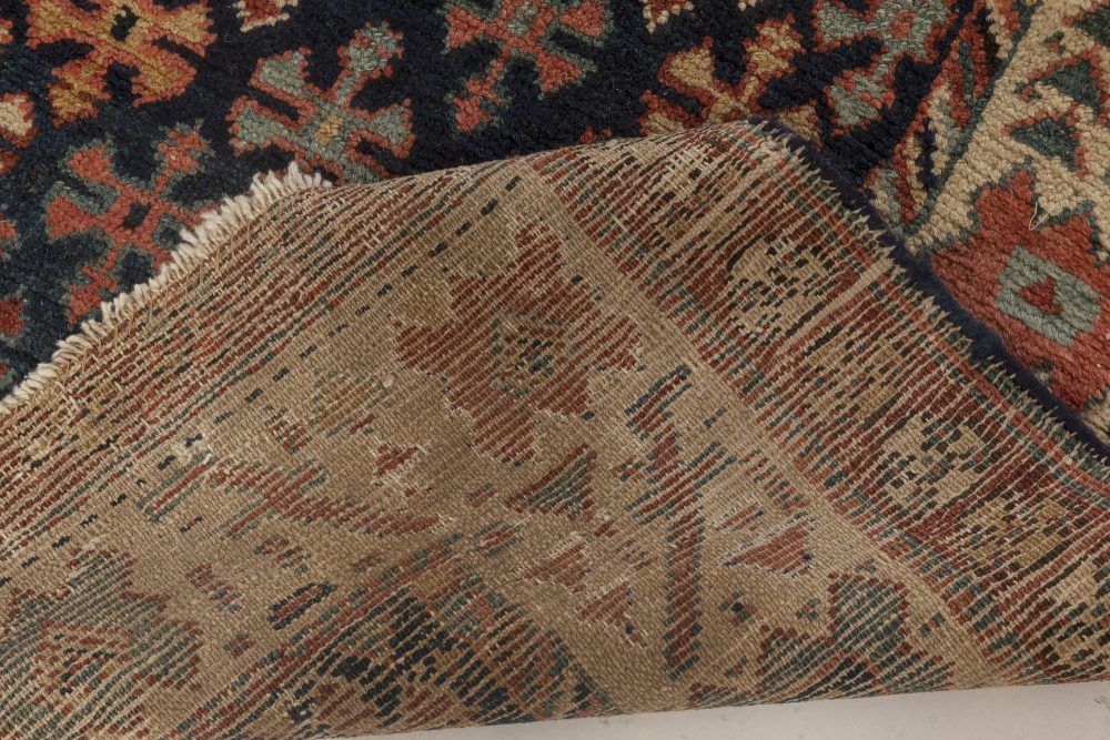 Persian Malayer Runner in Beige, Blue, Green and Red BB7007