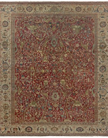 Antique Persian Serapi Rug BB7011