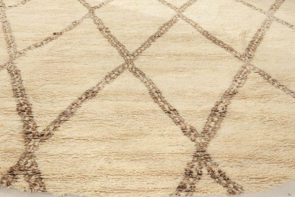 Novo tapete marroquino circular N12022