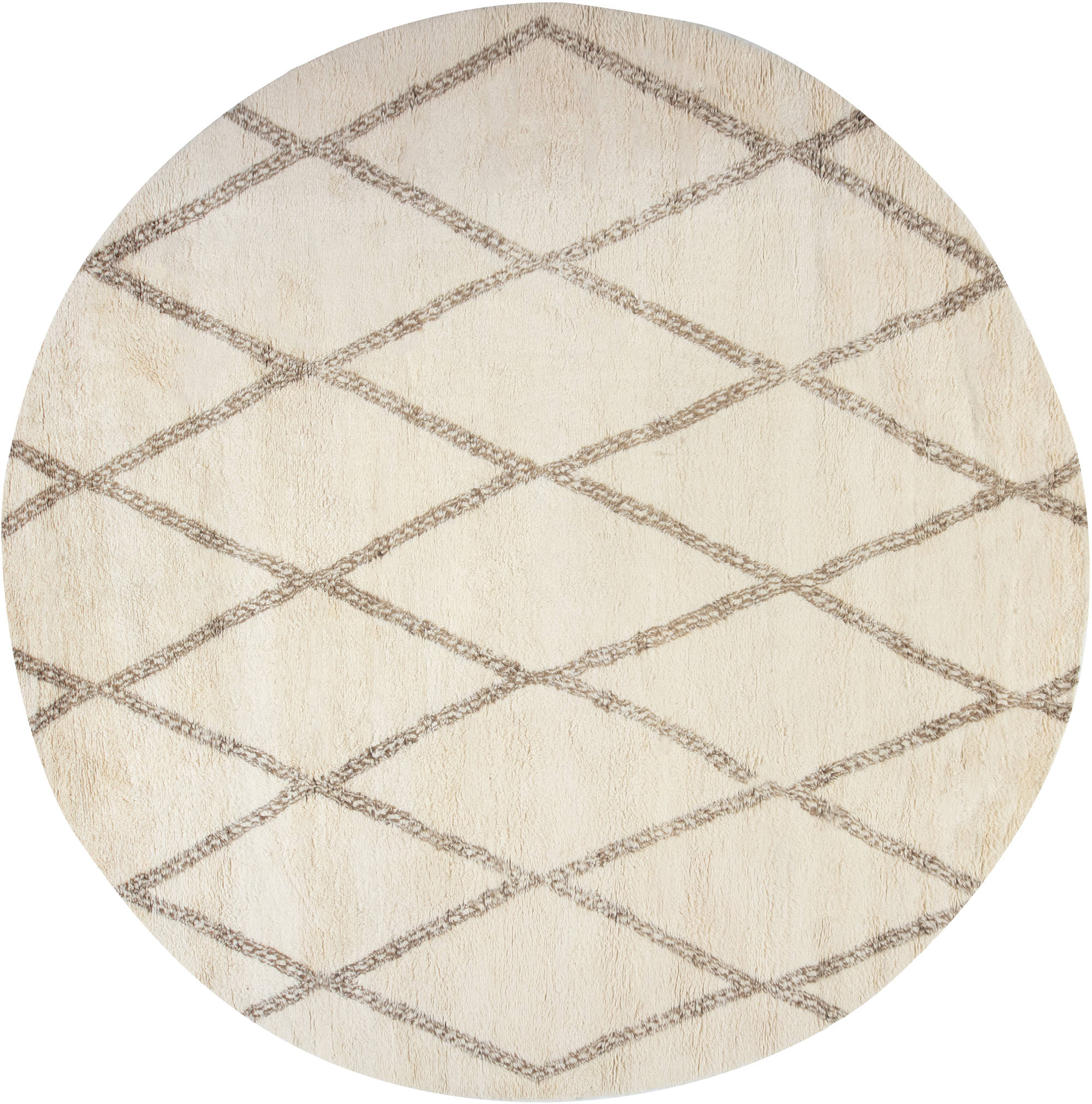New Circular Moroccan rug N12022